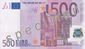 EURO MONEY NOTES.