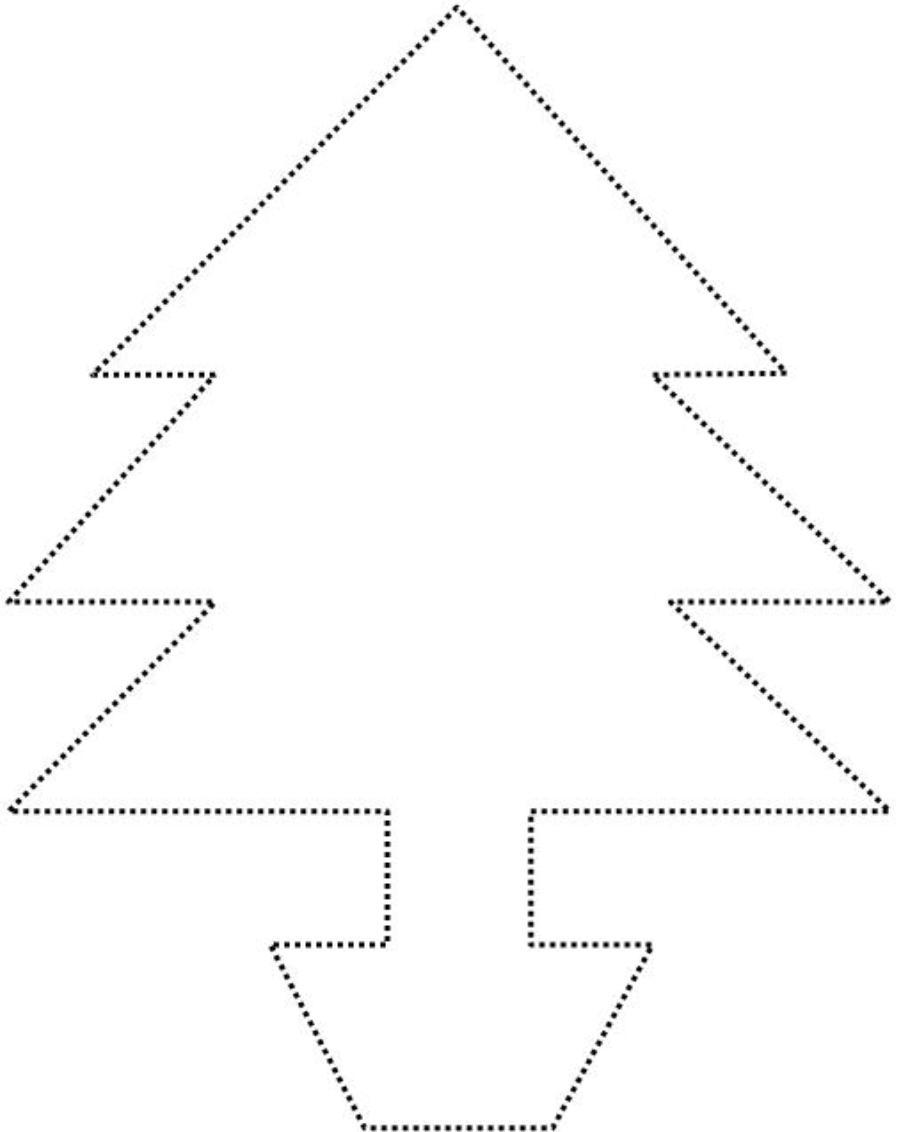 CHRISTMAS TREE - DOT TO DOT